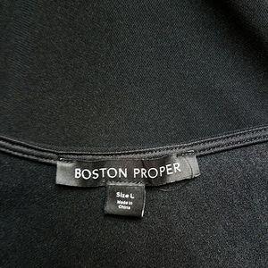Boston Proper Tops - Boston Proper Black One Strap Top